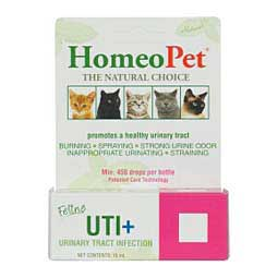 UTI+ Feline Urinary Tract Infection HomeoPet
